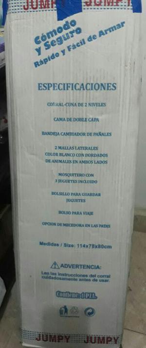 Cuna Corral Y Coche