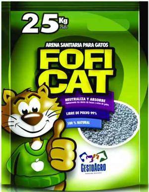 Arena Sanitaria Para Gato Fifi Cat X 25 Kilos