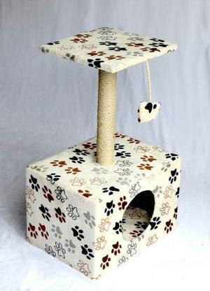 Rascador Gimnasio Para Gato Cama Casa Movil