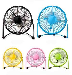 Ventilador Pequeño Usb Mini Fan Por Table Mesas Wa-505