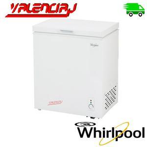 Congelador Horizontal Whirlpool 142 Litros Wha14abtww Blanco