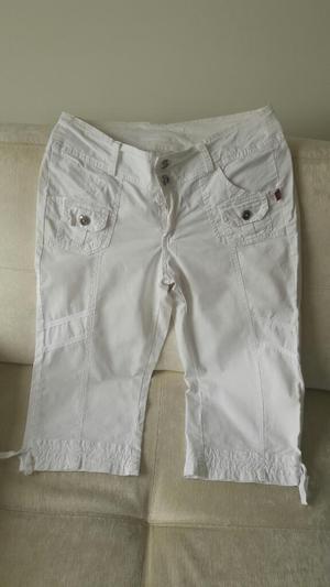 Pantalón Blanco Capri