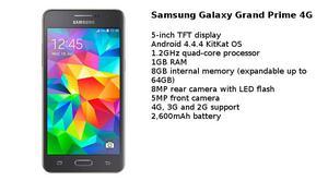 Samsung Galaxy Grand Prime Nuevo Lte 8gb Nfc Sitp