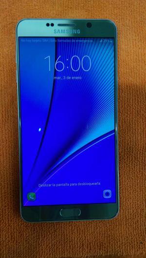 Samsung Note 5 Dorada con Factura