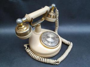 Teléfono estilo antiguo Western Electric