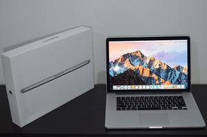 Macbook Pro 15 Retina Core Igb Ssd, Nvidia Geforce Ind.