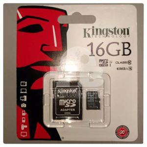 Memoria Micro Sd 16 Gbytes Kingston Clase 10