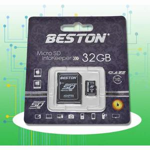 Memoria Micro Sd 32 Gb Clase 10 Beston Original Nueva