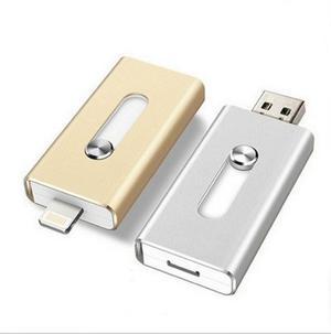 Memoria Otg Usb 64gb Para Iphone 6, 6 Plus 5 5s Ipad, Etc.