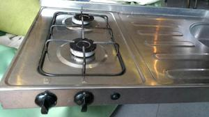 Mesón de Cocina en Acero