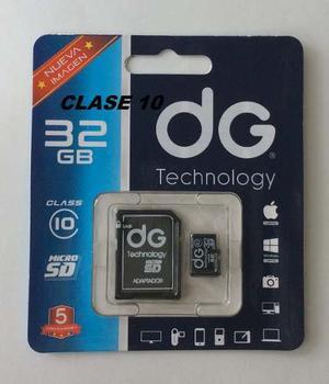Micro Sd 32 Gb Clase 10 En Estuche 3 Meses De Garantia