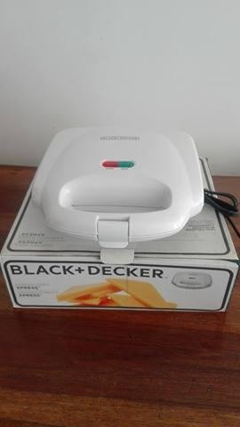 Sanduchera blackdecker