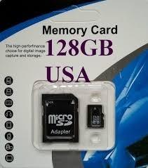 Tarjeta Memoria Micro Sd 128 Gb Clase 10 Con Adaptador