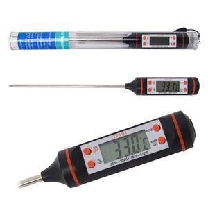 Termómetro Digital De Cocina Punzón Sonda Temperatura
