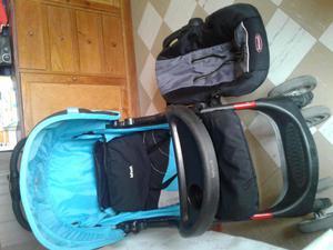 Coche de bebe y silla para auto posot class for Coches para bebes con silla para auto