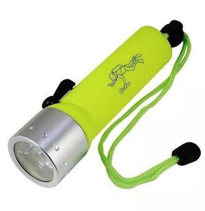 Linterna Luz Led Sumergible Para Buceo - Verde