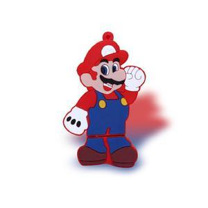 Memoria Usb 16 Gb Diseño De Mario Bros En Goma