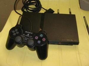 Play Station 2 + Control + Memory Card + Juegos