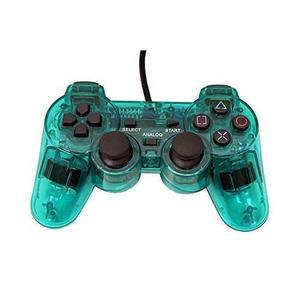 Playstation 2 Controlador De Reemplazo Con Cable - Transpar
