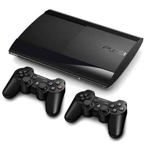 Ps3 Súper Slim 500gb, 2 Controles, 2 Juegos