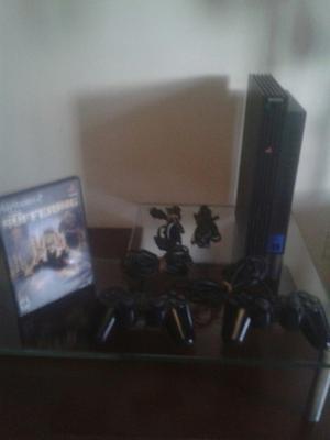 Venta De Consola Playstation 2 Fat Original Scph-.