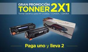 Dos Toner Genérico Para Impresora Hp 85a