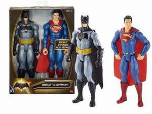 Batman Vs Superman Original Mattel 2 Figura Muñeco Héroe