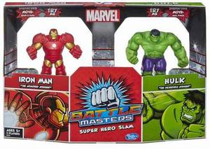 Battle Masters Iron Man Vs Hulk A Hasbro Avengers Marvel