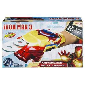 Marvel Iron Man 3 Arco Motorizado Fx Gauntlet