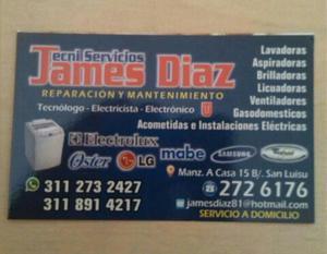 Servicio Técnico de Lavadoras.