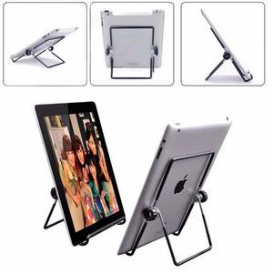 Soporte Acero Inoxidable Ajustable Compatible Ipad Tablets