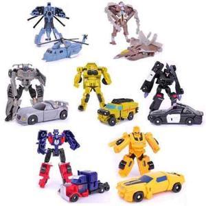 Transformers Coleccion Robot Automovil Avion Helicoptero