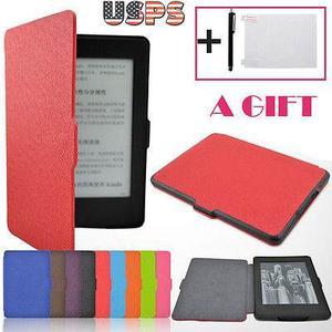 Auto Del Sueño Cuero Funda Para Kindle Paperwhite (7ª