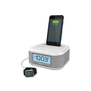 Ihome Radio Reloj Amplificador Bass Ipl23 Iphone O Ipad
