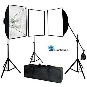 Limostudio Photo Video Studio Kit De Luz Continua De Soft...
