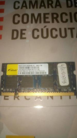 Memoria Ram 1 Gb Ddr2 para Portatil