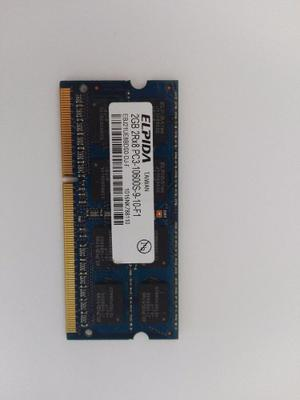 Memoria Ram Ddr3 2gb Pcs Para Portatil