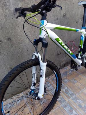 bicicleta mtb trek  rin 27.5 verde blanca