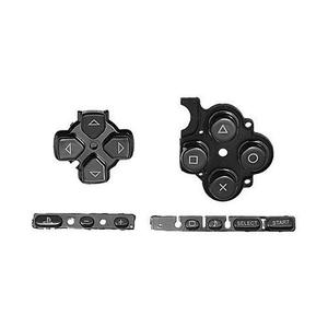 Kit Botones Para Sony Psp De La Serie  - Negro