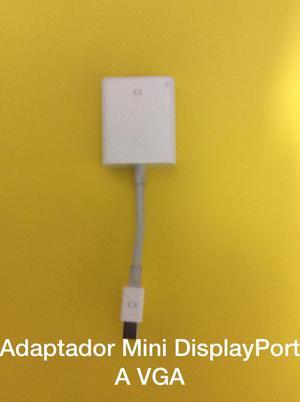 Mini Displayport a Vga Original de Apple