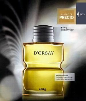 Perfume D'orsay 100ml Ésika Original, Caja Sellada. A mitad