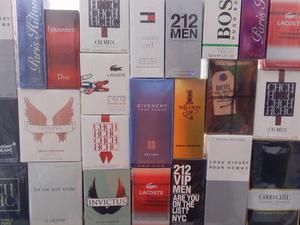 Promocion en perfumes importados