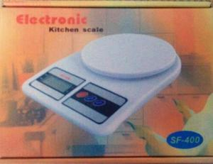 Bascula Gramera Digital Para Alimentos Hasta 7 Kg + Baterias