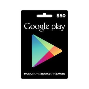 Google Play Gift Card $50 Usd Tarjeta Juego Envio Minutos