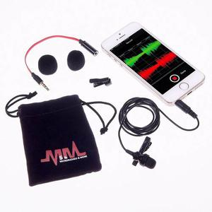 Micrófono Ipro-max Pro Condensador De Solapa Iphone Android