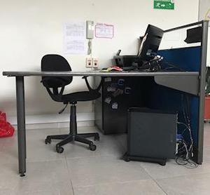 vendo 4 escritorios oficina