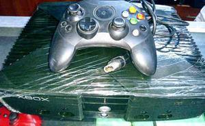Xbox Clasico Con Un Control Sus Cables Y 5 Juegos En Cd