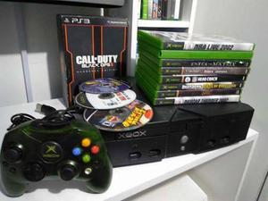 Xbox Clásico Con 11 Juegos Originales