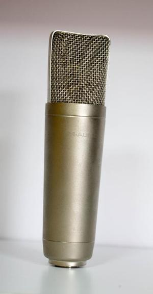 microfono maudio condensador a mitad de lo que cuesta