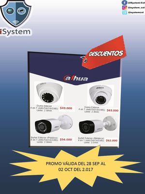 CAMARAS PARA CCTV CON GARANTIA